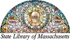 Logo of the State Library of Massachusetts