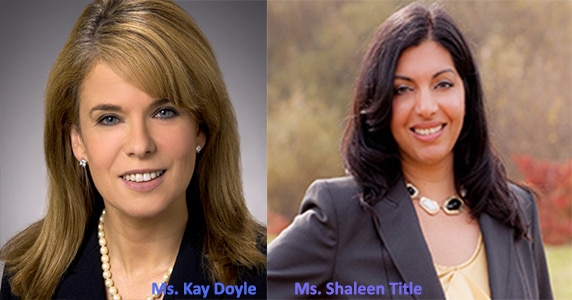 Treasurer Goldberg, Governor Baker, and Attorney General Healey appointed Kay Doyle and Shaleen Title to the Cannabis Control Commission (CCC).