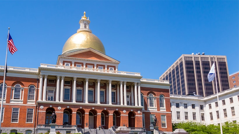 pic of mass state house