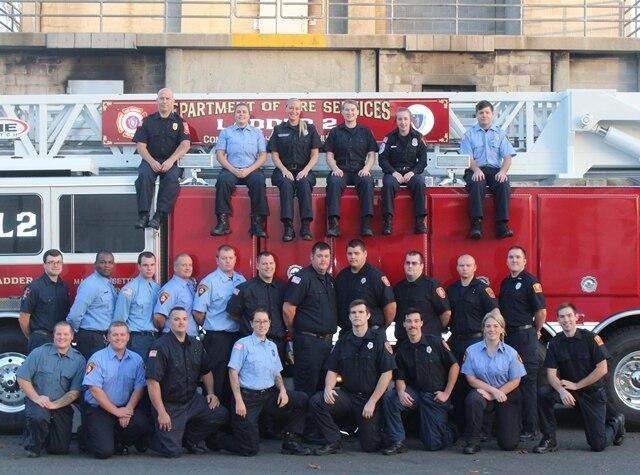 Call Volunteer Recruit Firefighter Class #66 Photo