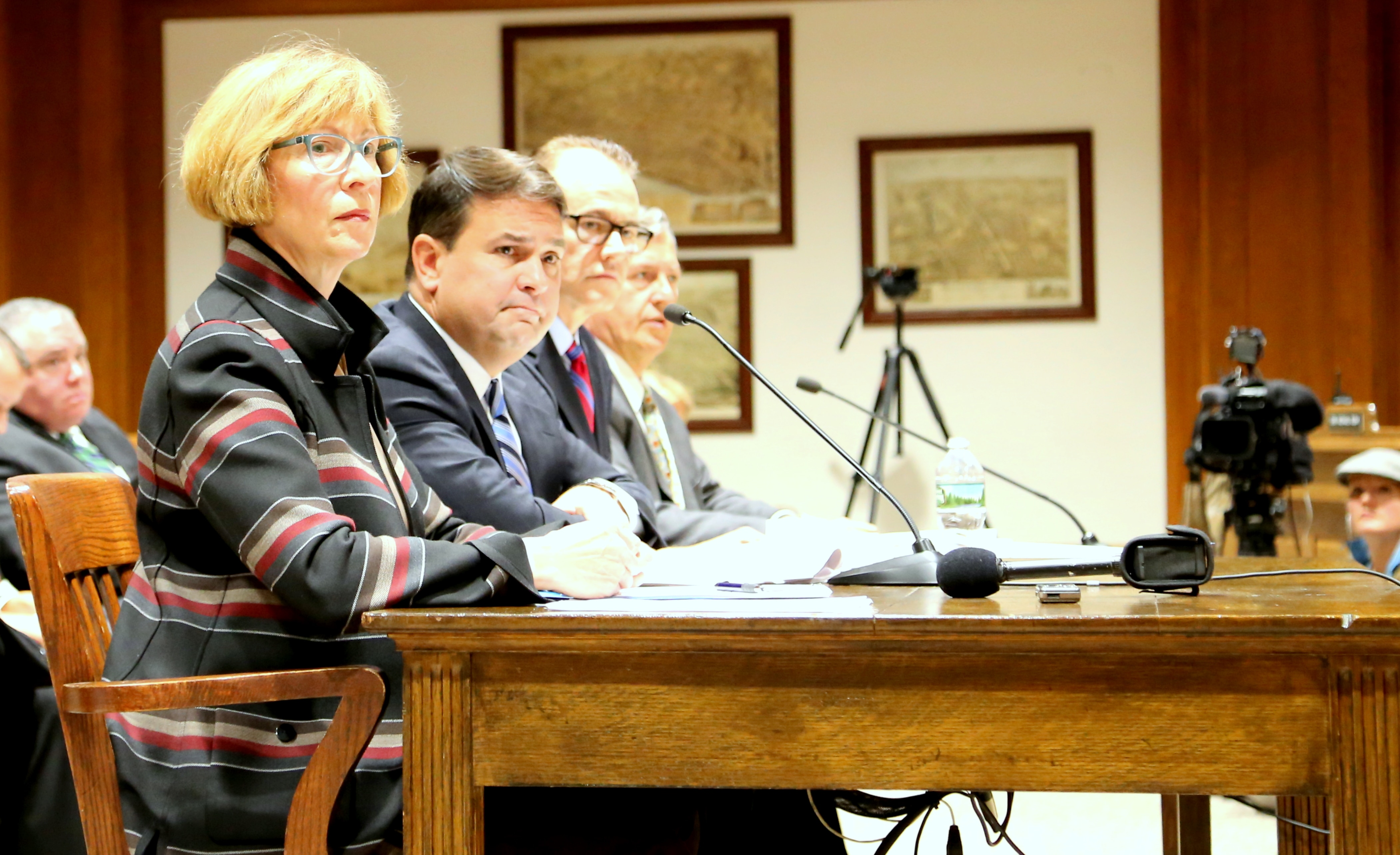 Auditor Bump and staff testify about the findings and recommendations of the Sex Offender Registry audit