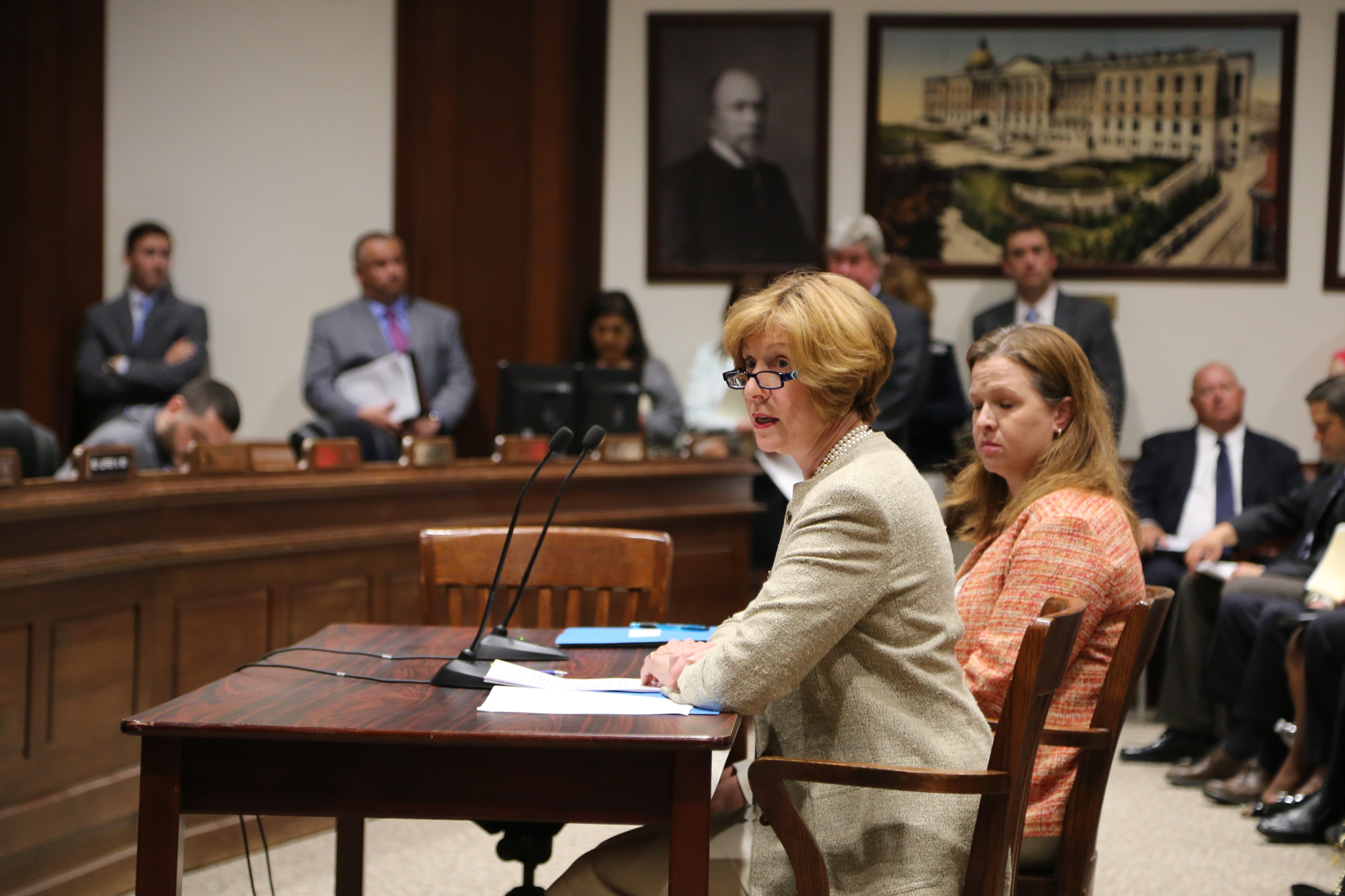 Auditor Bump testifies in support of House Bill 5,An Act Facilitating the Legislative Mandate of the Bureau of Special Investigations.