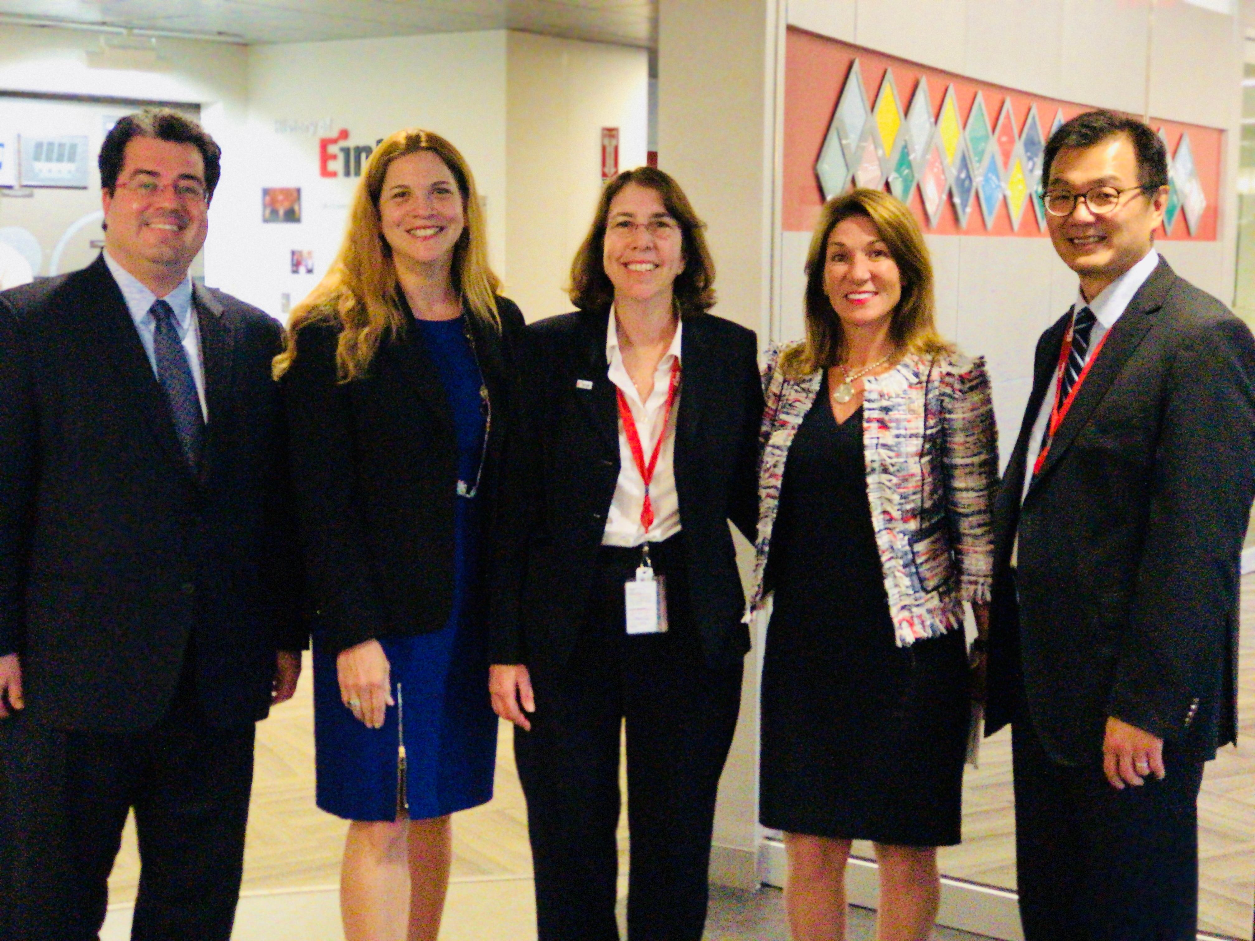 Secretary Acosta presenting Workforce Training Fund Program grants
