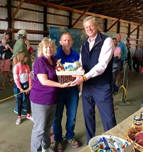 Governor Baker Kicks off Cranberry Harvest