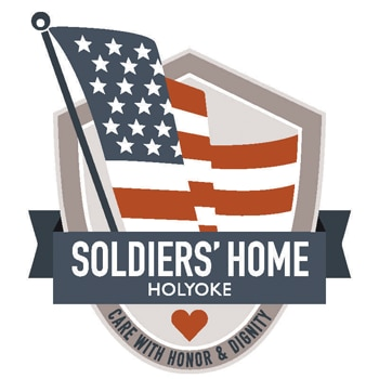 Image logo of the soliders' home of Holyoke