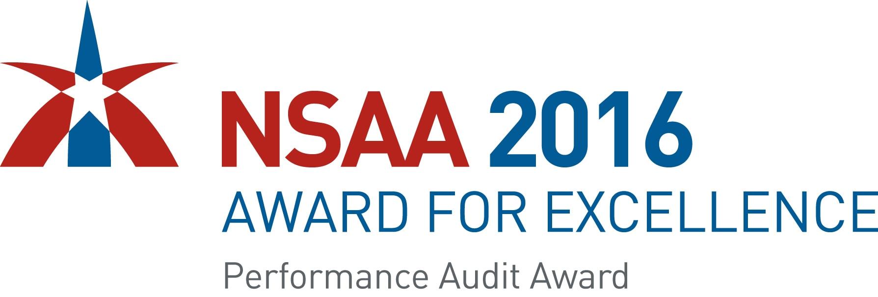 2016 NSAA Award for Excellence Logo