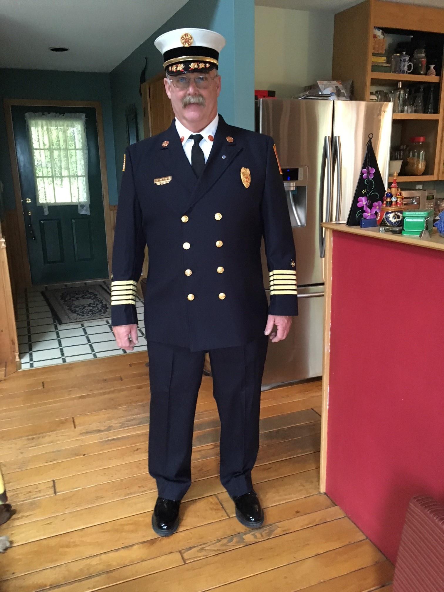 Montgomery Fire Chief Stephen P. Frye in uniform