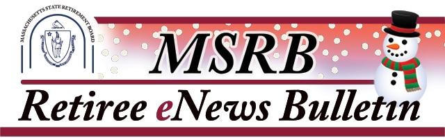 MSRB December Retiree eNews Bulletin