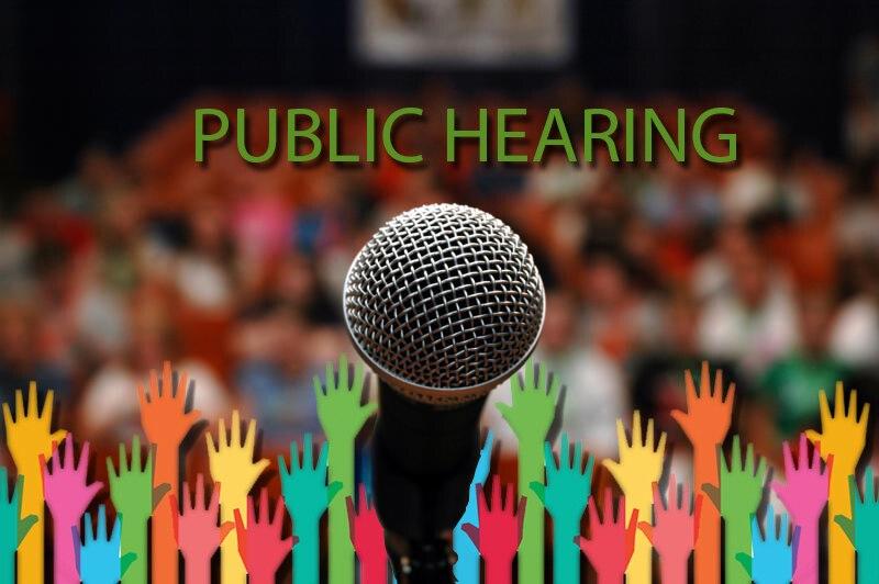 Public Hearing Clip Art