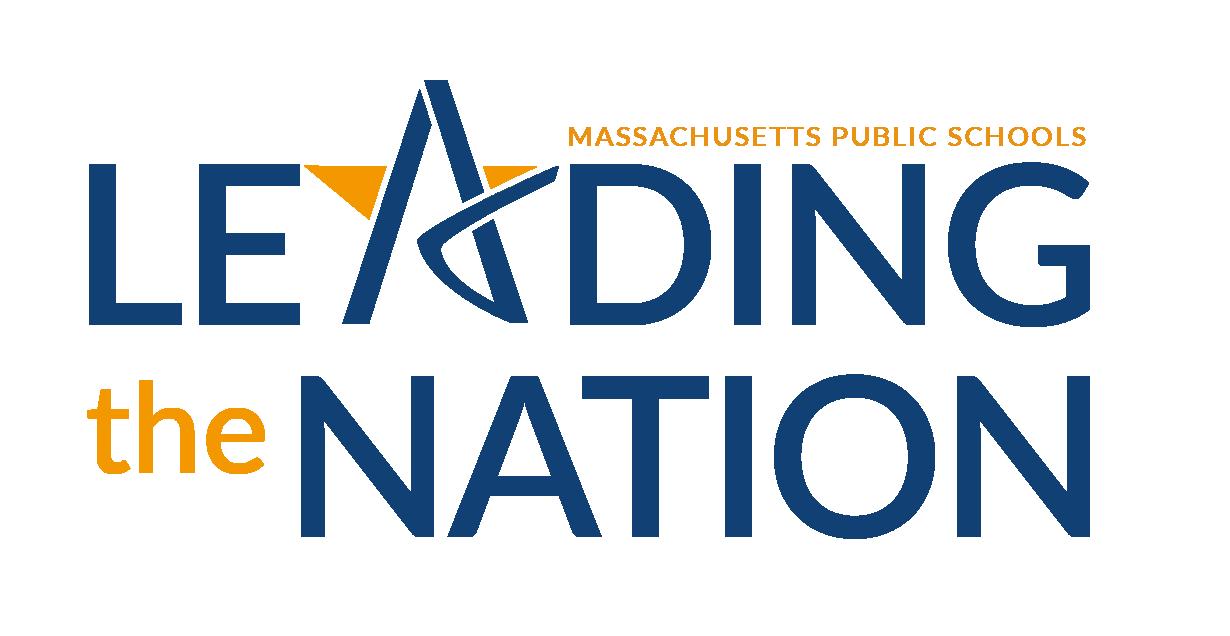 "The image says ""Massachusetts Public Schools - Leading the Nation"""