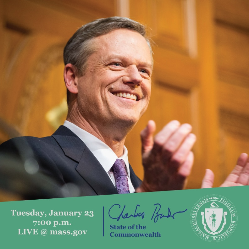 Governor Baker at the State of the Commonwealth