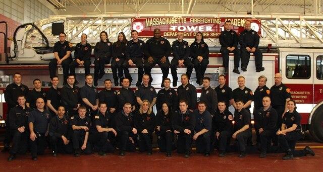 Call Volunteer Recruit Firefighter Class #68 Photo