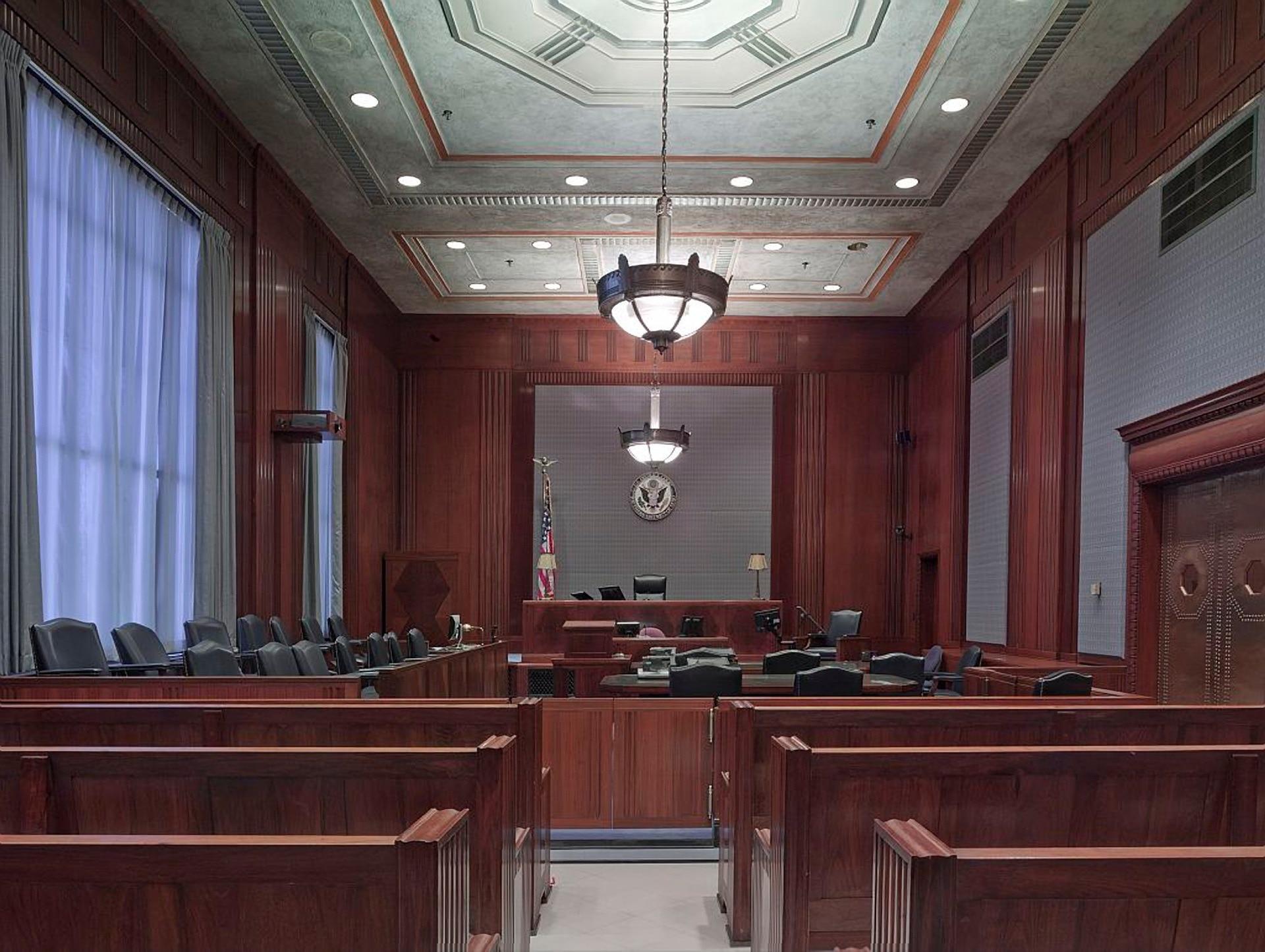 Interior of Court Room