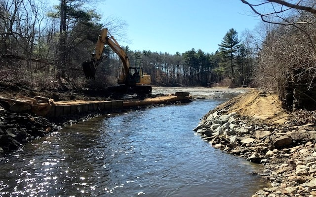 Cotley River after Barstowe's Pond Dam removed.