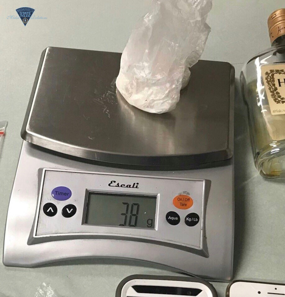 Cocaine Seized from Springfield Man and Woman Arrested Trafficking Cocaine During Traffic Stop in Greenfield