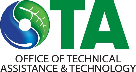 Logo for the Massachusetts Office of Technical Assistance and Technology