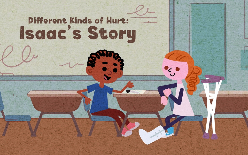 Featured DMH Story: Different Kinds of Hurt: Isaac's Story - Sparking Conversation About Children's Mental Health - click here to view this featured item