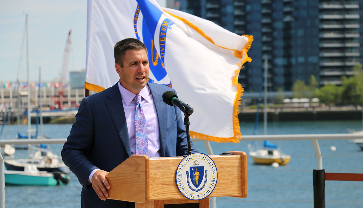 Secretary Matthew Beaton (Credit: New England Aquarium's Anderson Cabot Center for Ocean Life)