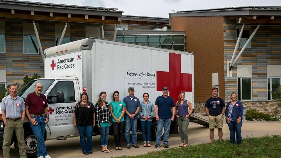 Blood drive at MassWildlife Field Headquarters
