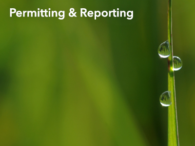 Permitting & Reporting: Online Filing & Downloadable Forms