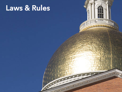 MassDEP Laws & Rules: Regulations, Policies, Guidance