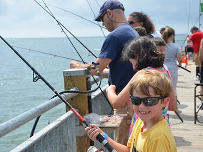 Recreational saltwater fishing information