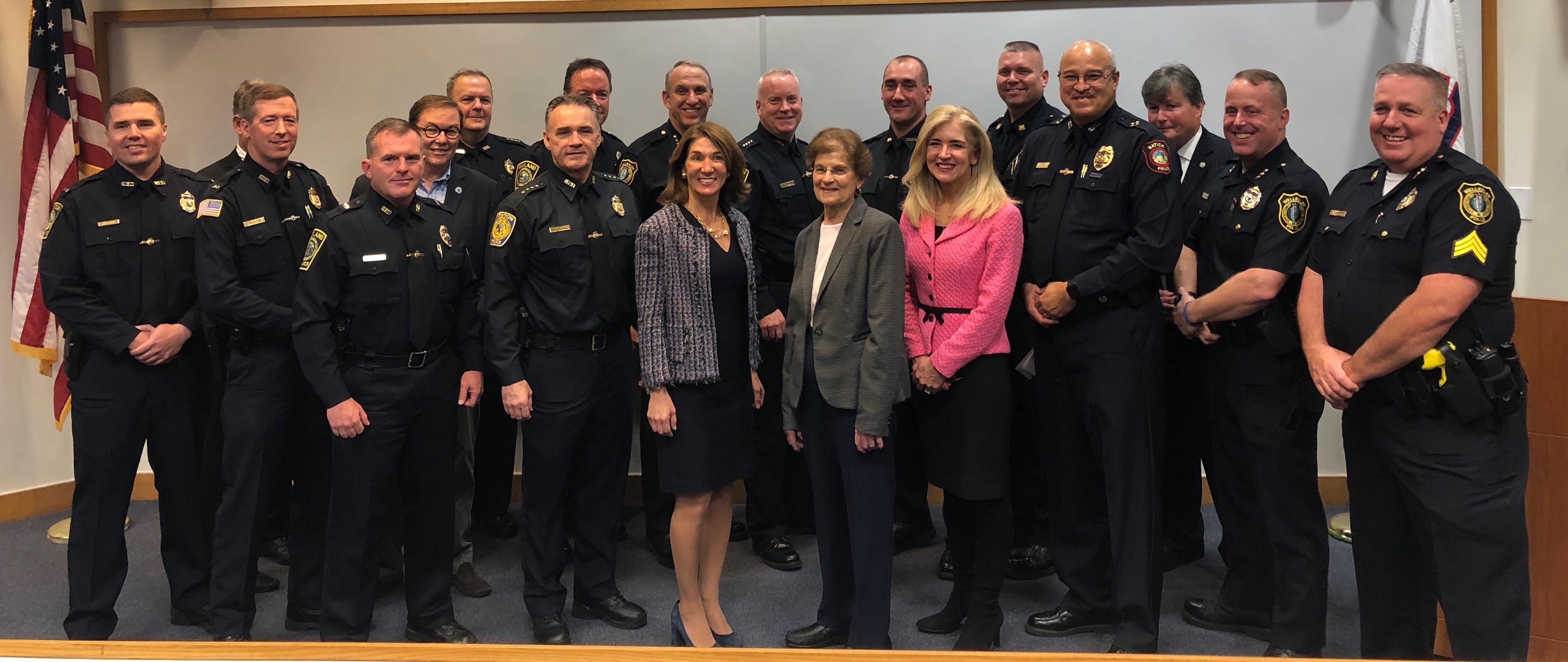 Baker-Polito Administration Announces Local Law Enforcement