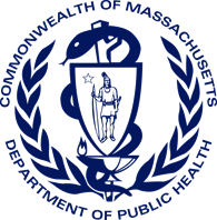 Commonwealth of Massachusetts Department of Public Health logo