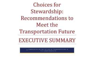 Choices for Stewardship: Executive Summary