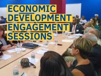 Register to attend an economic development engagement session