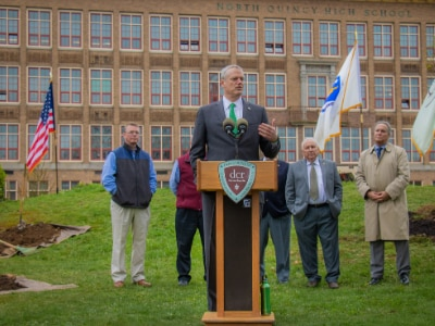 Baker-Polito Administration Celebrates Planting of 20,000th Tree Under Greening the Gateway Cities Program