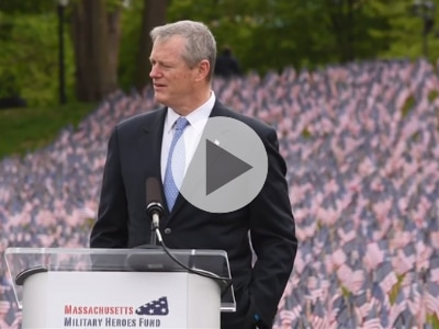 "VIDEO: Governor Baker: ""From a Grateful Commonwealth"""