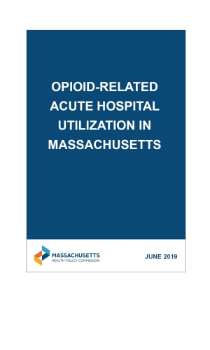 Opioid-Related Acute Hospital Utilization in Massachusetts Chartpack