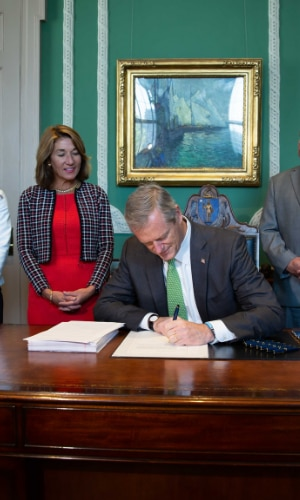 Governor Baker Signs Fiscal Year 2020 Budget