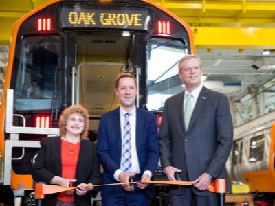 New Orange Line Cars