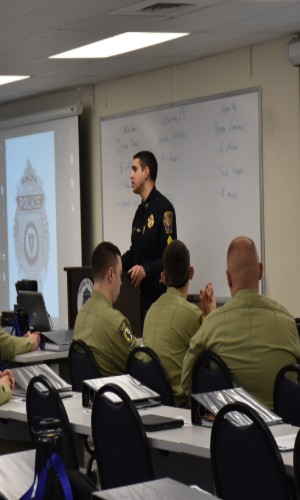 Image of Recruit Officer Course at Randolph Police Academy