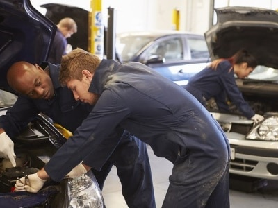 Motor Vehicle/Glass Repair Shops