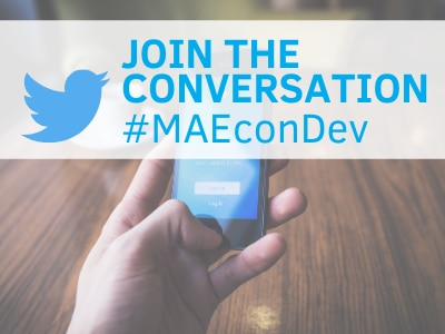 Join the Conversation on Twitter: #MAEconDev