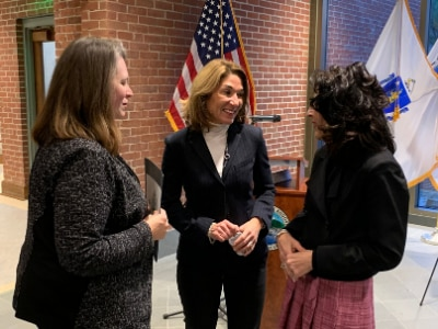 Lt. Governor Karyn Polito in North Andover