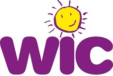 WIC logo with sun icon