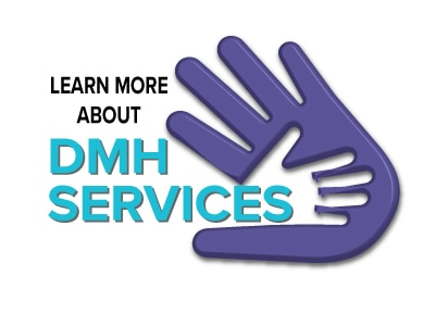 Learn more about DMH Services with hands