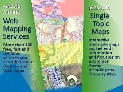 Access interactive maps, applications, and webservices (streaming data)