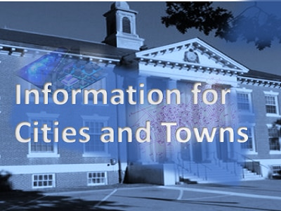 Link to GIS resources for municipalities