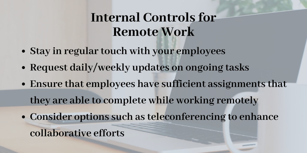 Internal Controls for Remote Work from the OIG
