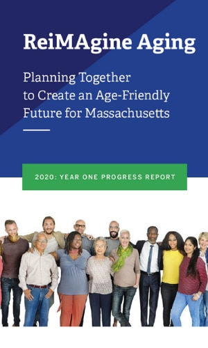 Cover image of Reimagine Aging Progress Report