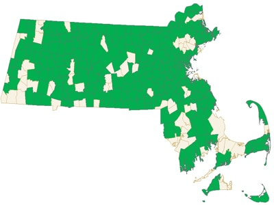 Green Communities Map