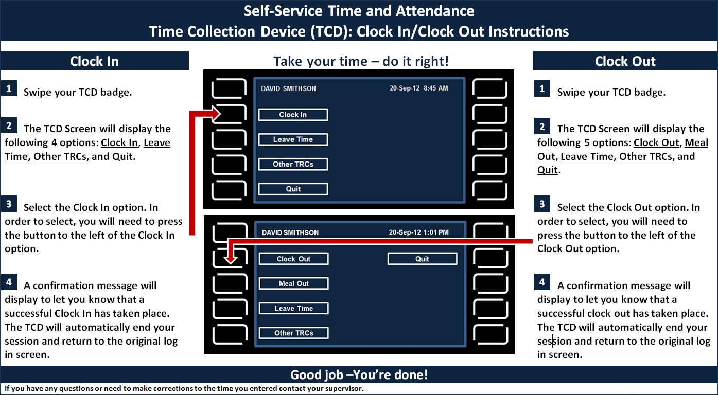 Time Collection Device Overview