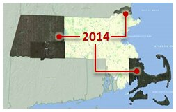 Goolge Imagery WMTS 2014 areas