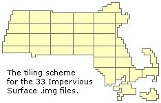 Tiling Scheme for 33 Impervious Surface Image