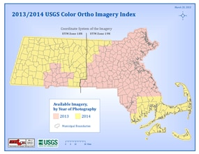 2013-2014 USGS Color Ortho Index Map